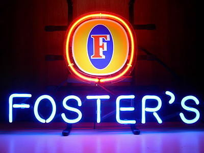 """New Foster's Lager Beer Logo Neon Sign 17""""x14"""""""