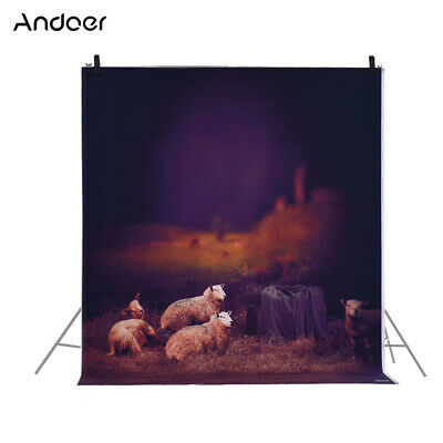 Andoer 1.5 * 2m/4.9 * 6.5ft Photography Background Backdrop Computer A8R3