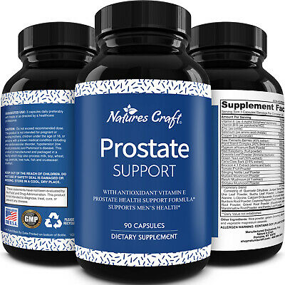 Prostate Support Supplement - Formula for Gland Health & Lower Urinary Frequency
