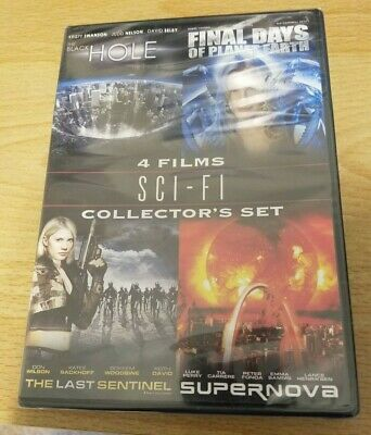 Sci-Fi 4 Films Collector's Set (DVD, New) (The Black Hole, Supernova, 2 others)