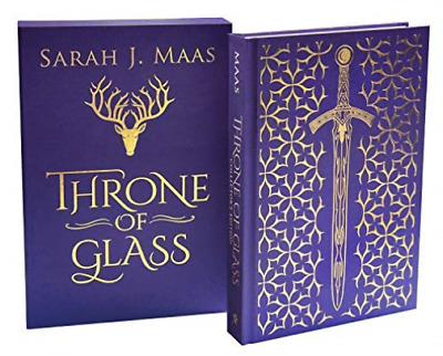Maas Sarah J.-Throne Of Glass Collector`S Edition Set (UK IMPORT) HBOOK NEW