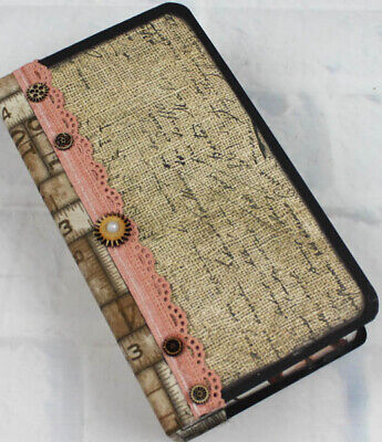 PAGE: She is a charming 4.75 x 8.5 Travelers' Writing Junk Journal