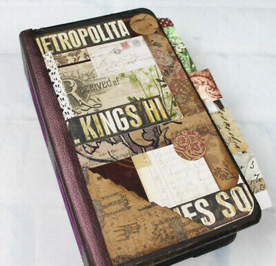 CALEIGH: She is a Very Special 4.75 x 8.5 Travelers' Writing Junk Journal