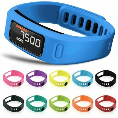 US Replacement Silicone Wrist Band Watch Strap Bracelet For Garmin Vivofit 1/2 9