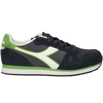 SCARPE DA UOMO Diadora Simple Run C2074 Blu Verde Sneakers