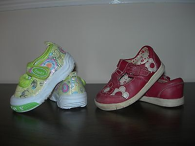 Clarks First Shoes & Dandy Shoes Baby Girl Infant Shoes Eu Size 20 / Uk Size 4