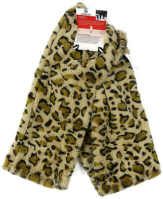 Womens Isotoner Scarf Casual Knit Leopard Print
