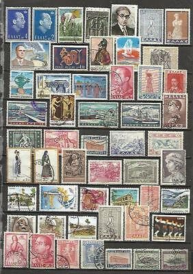 7569-Lote Sellos Grecia Sin Tasar,Sin Repetido,Escasos,Greece Stamps Lot Without