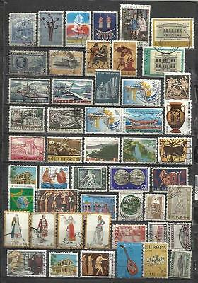 7568-Lote Sellos Grecia Sin Tasar,Sin Repetido,Escasos,Greece Stamps Lot Without