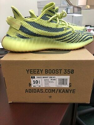 0262d4caf ADIDAS YEEZY BOOST 350 v2 Static Zebra Frozen Yellow -  350.00 ...