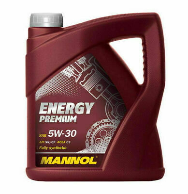 MANNOL 5w30 Fully Synthetic German Oil Low Saps C3 Car Engine Oil 5 litre