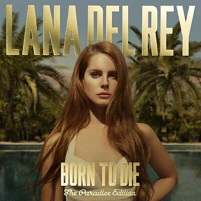 Lana Del Rey - Born To Die (The Paradise Edition) - UK CD album 2012
