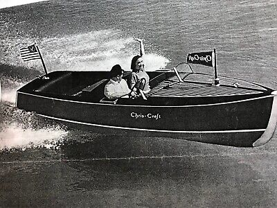Chris Craft '39er Deluxe Runabout