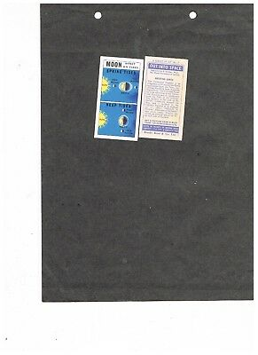 Buy Single Out Into space cards (Issued In)  VGC+   Nos 1-50  see list