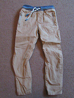 Next tan boys trousers - Size 4 years