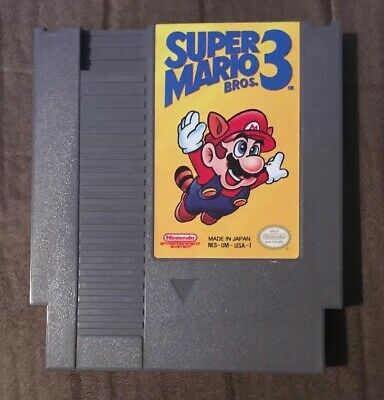 Super Mario Bros 3 Nintendo Nes ~ Works Great! ~ Fast Shipping! ~ Authentic!