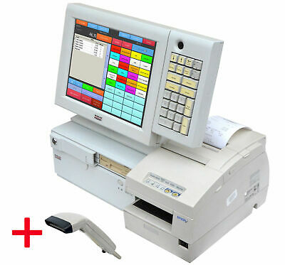 Snikey Cash Register System TFT Touchscreen Epson Receipt Printer H6000