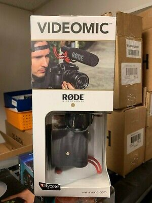 Rode VideoMic with Fuzzy Windjammer Dead Cat Wind Muff Kit
