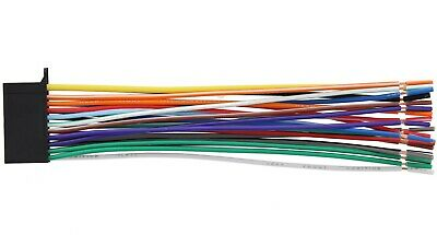 WIRE HARNESS FOR Kenwood Kdc-X895 Kdcx895 *pay Today Ships ... on