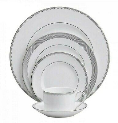 Vera Wang WEDGEWOOD Grosgrain 5 Piece Place Setting New In A Box - 2 Available