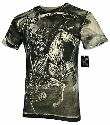 XTREME COUTURE by AFFLICTION Men T-Shirt DARK HORSE Biker Biker MMA GYM S-4X$40