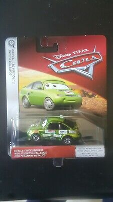 Disney cars metallic nick stickers scavenger hunt