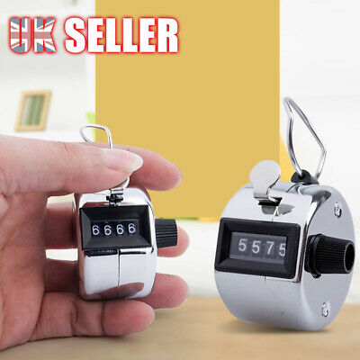 Manual Sale 4 Digit Number Clicker High Quality Hand Held Tally Counter