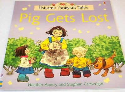 Pig Gets Lost | Usborne Farmyard Tales | Children's Story | Picture Book | New
