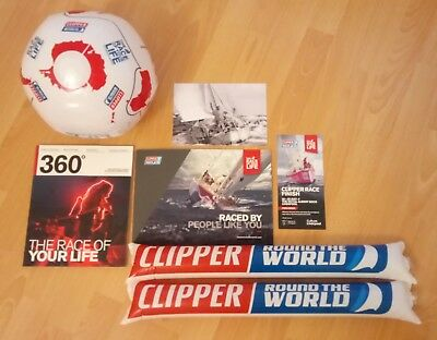 Clipper Round The World Race 2017 / 2018 - Official Souvenir Pack - Sailing