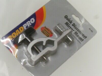 ROADPRO RP-404 Quick Disconnect Clamp Mirror Mount with SO-239 Stud Connector