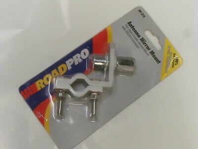 Roadpro Rp-319 Thin Double Groove Mirror Mount With So-239 Stud Connector - Nos