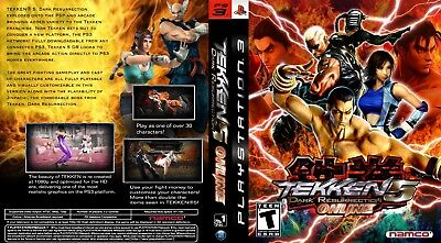 Sony Ps3 Replacement Game Case and Cover Tekken 5: Dark Ressurection Online