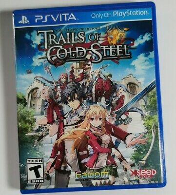 Sony PlayStation Vita Replacement Case Cov Legend of Heroes Trails of Cold steel