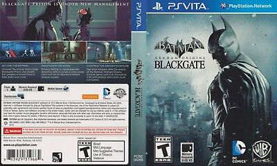 Sony PlayStation Vita Replacement Case and Cover Batman Arkham Origins Blackgate