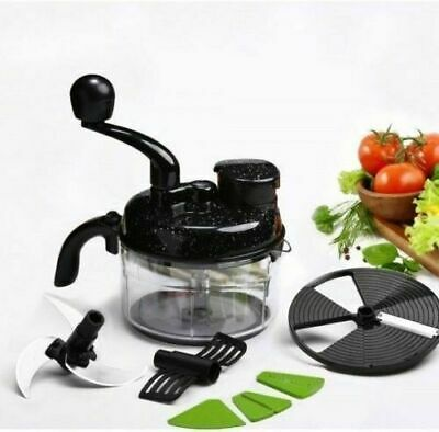 Turbo Dual Speed Food Processor By Wonderchef Mix Mixer Grater Cutter & Slicer U
