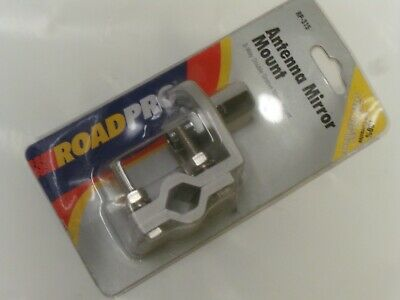 ROADPRO RP-315 3-Way Double Groove Antenna Mirror Mount - NOS