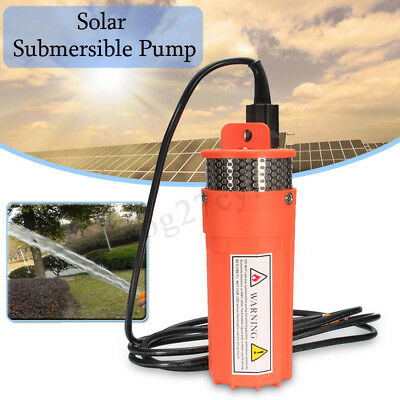 DC24V Submersible Deep Solar Battery Well Fountain Water Pump Alternative