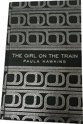 PRE-OWNED Paula Hawkins The Girl On The Train Thriller Hardback Book
