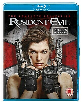 Resident Evil: The Complete Collection (Box Set with Digital HD UltraViolet Co