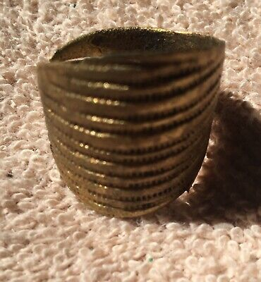 Authentic Viking Bronze Shield Ring 11th-13th Century AD