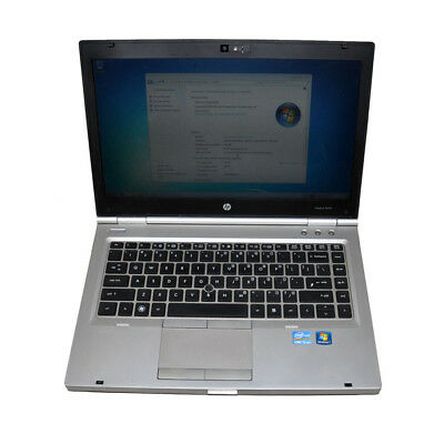 "HP Elitebook 8470p 14"" Laptop i5-3380M@2.9GHz CPU 4G RAM 320G HDD Win 7 Pro"