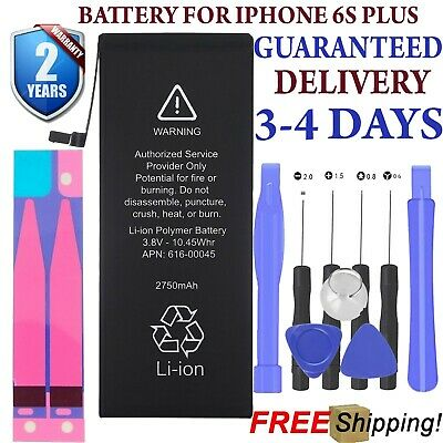 Replacement Battery for iPhone 6S Plus with Tool Kit 2 Year Warranty+ oem tools