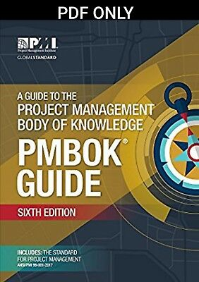 [PDF] A Guide to the Project Management Body of Knowledge (PMBOK) 6th edition