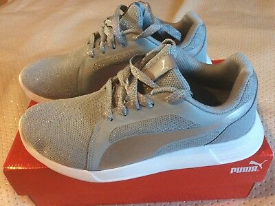 Women's girls puma trainers shoes size 5