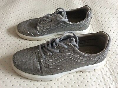 Kids girls vans trainers shoes size 13