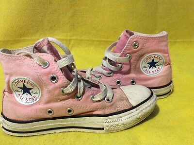 Girls converse trainers shoes size 12