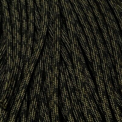 550 Paracord CAMO OD & Black 100 ft Made in USA 163-245