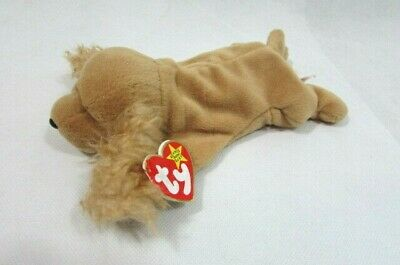 69d72ffd046 Ty Beanie Baby 1997 SPUNKY the Cocker Spaniel Dog Retired EXCELLENT  CONDITION