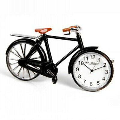 William Widdop Miniature Pedal Bike Quartz Clock - 9604