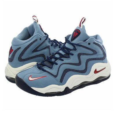 731349eee2083 Nike Air Pippen Max Uptempo Work Blue 325001-403 sz US 8.5 EUR 42 Stamps